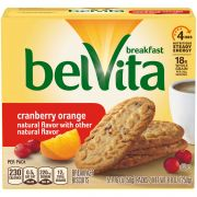Belvita Cookies Cranberry Orange, 1.76 Ounce -- 30 per case.