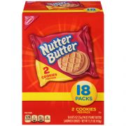 Nabisco Nutter Butter Cookies, 0.875 Ounce -- 72 per case