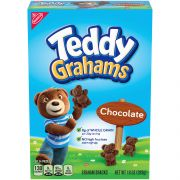 Teddy Grahams Chocolate - 10 oz. box, 6 per case