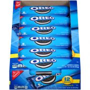 Oreo Chocolate Single Serve Sandwich Cookies, 2.4 Ounce -- 48 per case.