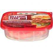 Hillshire Farm Ultra Thin Sliced Black Forest Ham Lunchmeat, 9 Ounce -- 9 per case.