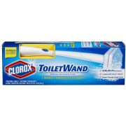 Clorox Toilet Wand Disposable Toilet Cleaning System -- 6 per case