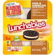 Oscar Mayer Lunchable Ham American Cheese and Cracker Stacker, 4.4 Ounce -- 16 per case.