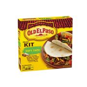Old El Paso Soft Taco Dinner Kit, 12.5 Ounce -- 12 per case.