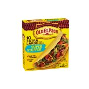 Old El Paso Super Stuffer Taco Shells, 6.6 Ounce -- 12 per case.
