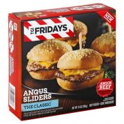 TGI Fridays Classic Sliders Entrees and Sides, 10 Ounce -- 4 per case.