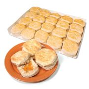 Bridgford Honey Whole Wheat Biscuit, 1.25 Ounce -- 105 per case.