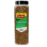 Durkee Whole Coriander - 11 oz. container, 6 per case