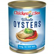 Chicken Of The Sea Whole Oyster, 8 Ounce -- 12 cans per case.