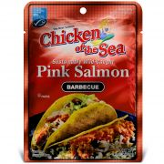 Chicken of the Sea Skinless Boneless Pink Salmon in Barbeque Sauce Pouch, 2.5 Ounce -- 12 per case.