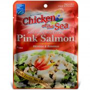 Chicken Of The Sea Premium Skinless and Boneless Pink Salmon Pouch, 3 Ounce -- 12 per case.