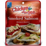 Chicken Of The Sea Smoked Pacific Pink Salmon Fillet Pouch, 3 Ounce -- 12 per case.