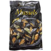 Oyster Bay Cooked in Shell Mussel, 1 Pound -- 10 per case