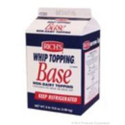 Rich Products Corporation Non Dairy Whip Topping Base, 8.8 Pound -- 4 per case.