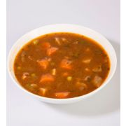 Campbells Frozen Condensed Vegetable Beef Barley Soup - 4 lb. tray, 3 per case