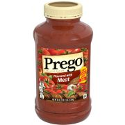 Prego Flavored with Meat Italian Sauce, 45 Ounce -- 6 per case