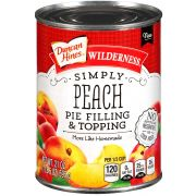 Wilderness Duncan Hines Simply Peach Pie Filling and Topping, 21 Ounce -- 8 per case.