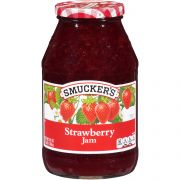 Smuckers Strawberry Jam, 48 Ounce -- 6 per case.