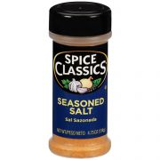 Spice Classics Seasoned Salt, 4.75 Ounce -- 12 per case.