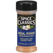 Spice Classics Soul Food Seasoning Salt, 5.12 Ounce -- 12 per case.
