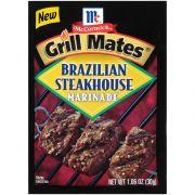 Mccormick Grill Mates Brazilian Steakhouse Marinade, 1.06 Ounce -- 12 per case.