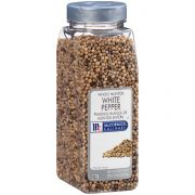 McCormick Culinary Whole White Pepper, 20 oz. -- 6 per case