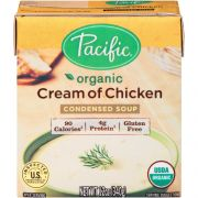 Pacific Organic Condensed Cream of Chicken Condensed Soup, 12 Ounce -- 12 per case.