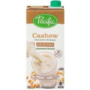 Pacific Foods Organic Original Unsweetened Cashew Beverage, 32 Fluid Ounce -- 6 per case.