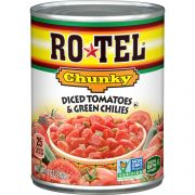 Rotel Chunky Diced Tomatoes and Green Chilies, 10 Ounce -- 12 per case