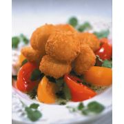 Mrs Fridays Large Breaded Gourmet Sea Scallop, 2.5 Pound -- 6 per case.