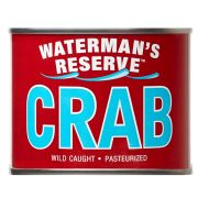 Waterman's Reserve Jumbo Crab Meat, 1 pound can -- 6 per case
