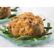 Phillips Seafood Crab and Shrimp Cake, 3 ounce -- 12 per case
