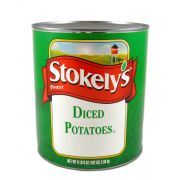 Stokelys Diced Potatoes - no. 10 can, 6 cans per case