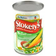 Stokely Mixed Vegetables, 15 Ounce Can -- 24 per case