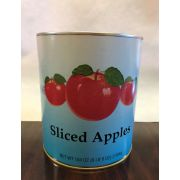Commodity Canned Fruit and Vegetables Sliced Three Apple in Water, Number 10 Can -- 6 per case