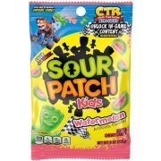 Sour Patch Kids Watermelon Fat Free Soft and Chewy Candy, 8 Ounce -- 8 per case