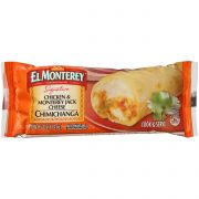 El Monterey All Natural Chicken and Monterey Jack Cheese Chimichanga, 0.312 Pound -- 24 per case.