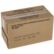 Bongards Yellow Restricted Melt Sharp American Cheese Slice, 5 Pound -- 4 per case.