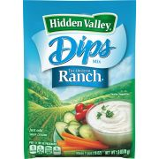Clorox Hidden Valley Original Ranch Dressing Mix, 1 Ounce -- 24 per case.