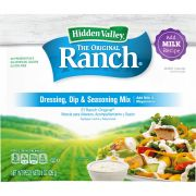 Hidden Valley Original Ranch Dry Dressing Mix, 8 Ounce -- 12 per case.