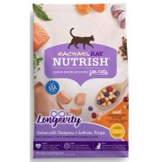Rachael Ray Nutrish Chicken with Chickpeas and Salmon Longevity Dry Cat Food, 3 Pound Bag -- 4 per case