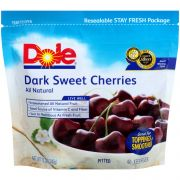 Dole Dark Sweet Cherries, 12 Ounce Sub Bag -- 8 per case