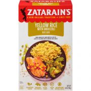 Zatarains Yellow Rice with Broccoli Rice Side, 6.9 Ounce -- 12 per case.