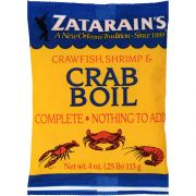 Zatarains Pre-Seasoned, Ready To Use Sea Crab and Shrimp Boil, 4 Ounce -- 12 per case.