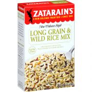 Zatarains Long Grain & Wild Rice, 7 Ounce -- 12 per case.