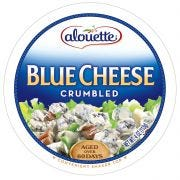 Alouette Crumbled Blue Cheese, 4 Ounce -- 12 per case.