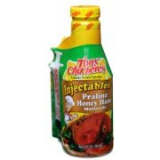 Tony Chacheres Creole Foods Praline Honey Ham Injectable Marinade, 17 Ounce Bottle -- 6 per case