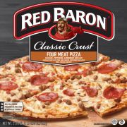 Red Baron Classic Crust 4 Meat Pizza, 21.95 Ounce -- 16 per case.