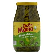 Dona Maria Pepper Sliced Nopalitos, 30 Ounce -- 12 per case.