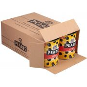 Pearls Large Pitted Ripe Olives, 51 Ounce -- 6 per case.